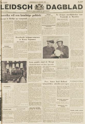 Leidsch Dagblad 1954-01-20