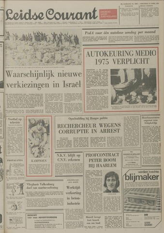 Leidse Courant 1974-04-24