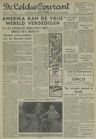 Leidse Courant 1961-09-01