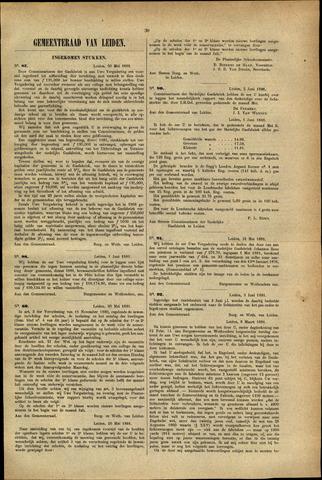 Handelingen van de Raad 1881-05-30
