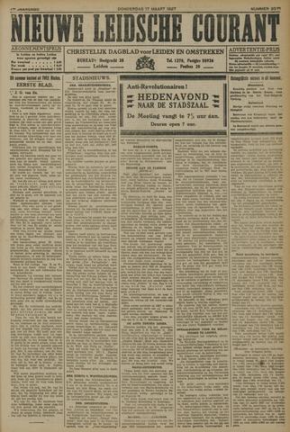 Nieuwe Leidsche Courant 1927-03-17