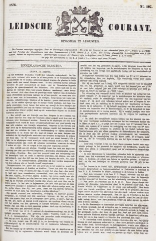 Leydse Courant 1876-08-22