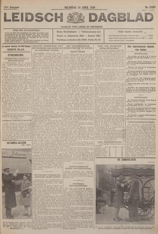 Leidsch Dagblad 1930-04-14