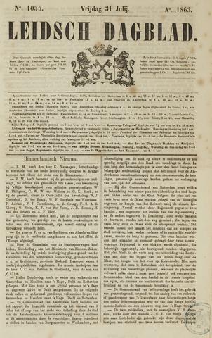 Leidsch Dagblad 1863-07-31