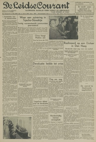 Leidse Courant 1949-09-28