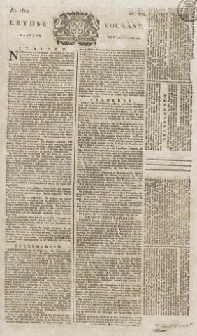 Leydse Courant 1815-09-04