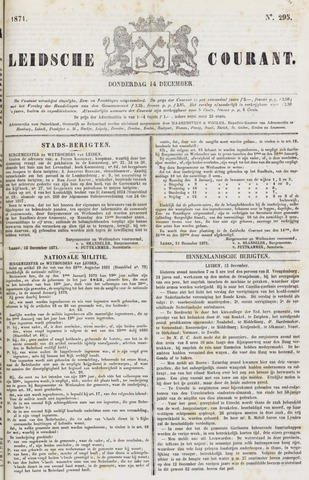 Leydse Courant 1871-12-14
