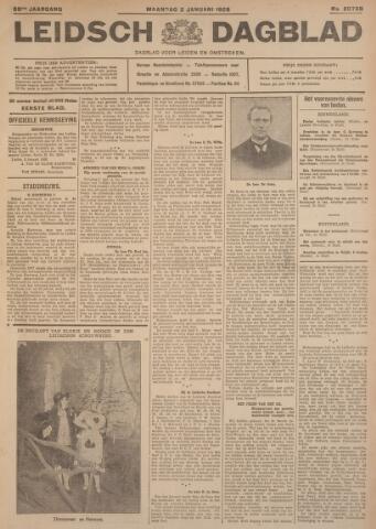 Leidsch Dagblad 1928