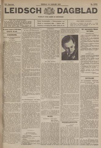 Leidsch Dagblad 1933-01-10