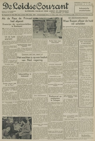Leidse Courant 1949-02-16