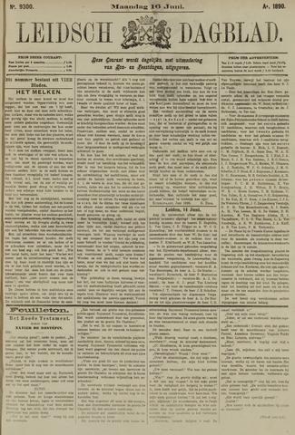 Leidsch Dagblad 1890-06-16