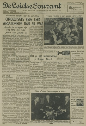 Leidse Courant 1958-11-13