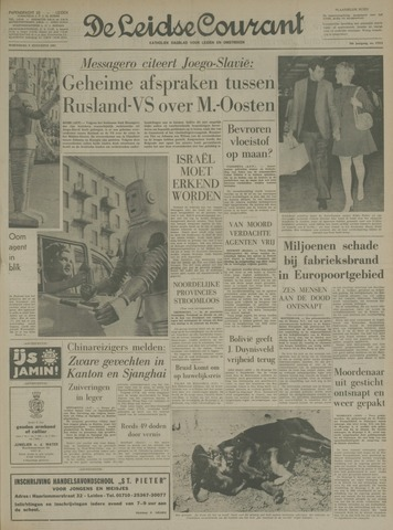 Leidse Courant 1967-08-09