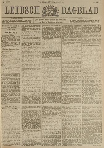 Leidsch Dagblad 1907-09-27