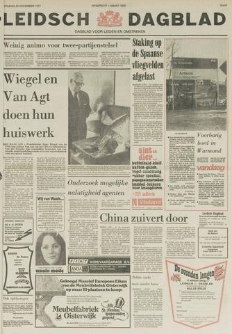 Leidsch Dagblad 1977-11-25