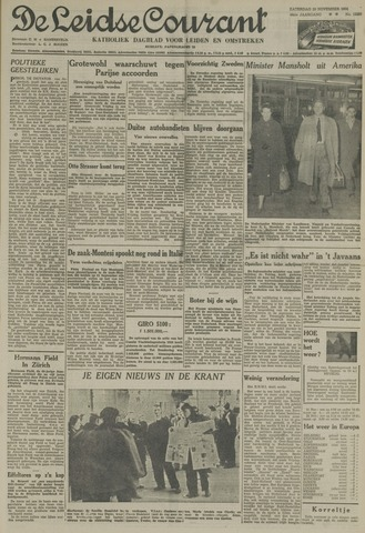 Leidse Courant 1954-11-20
