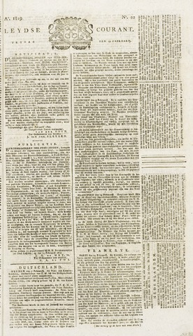 Leydse Courant 1819-02-19