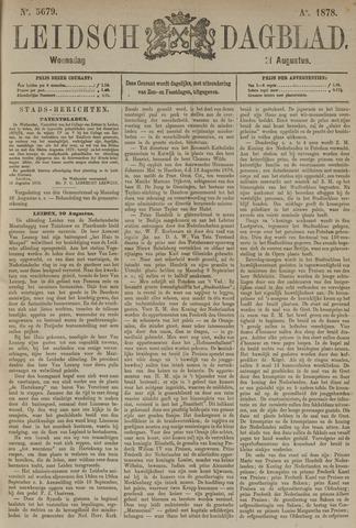 Leidsch Dagblad 1878-08-21