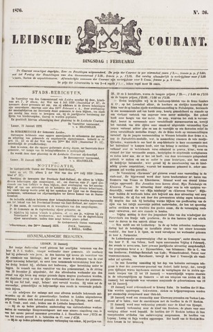 Leydse Courant 1876-02-01
