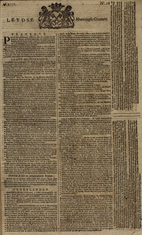 Leydse Courant 1777-02-10