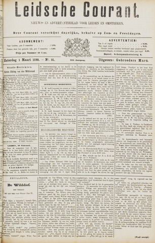 Leydse Courant 1890-03-01