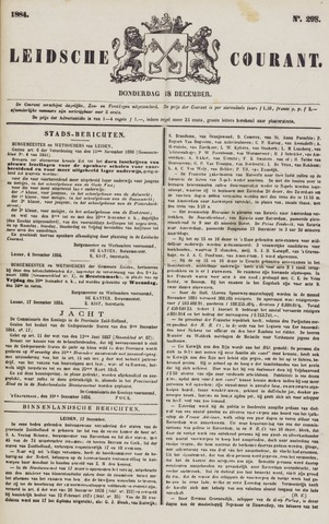 Leydse Courant 1884-12-18