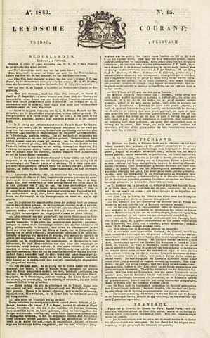 Leydse Courant 1843-02-03