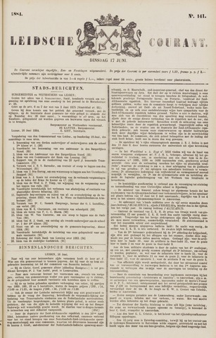 Leydse Courant 1884-06-17