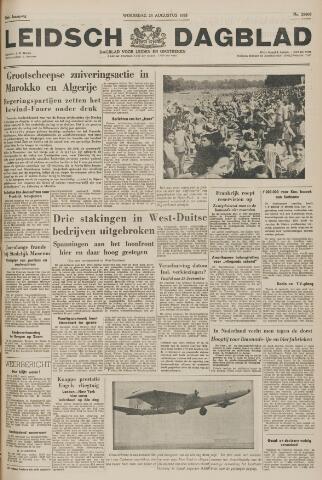 Leidsch Dagblad 1955-08-24