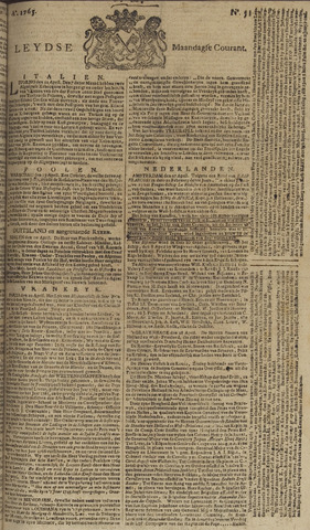 Leydse Courant 1765-04-29