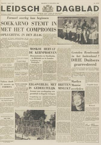 Leidsch Dagblad 1962-08-06