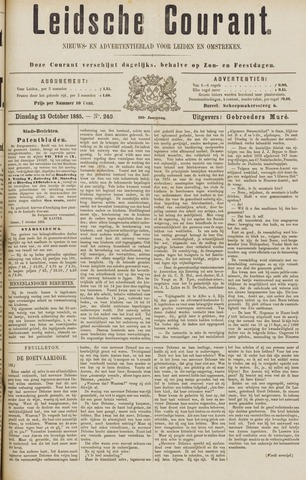 Leydse Courant 1885-10-13