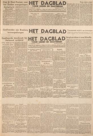 Dagblad voor Leiden en Omstreken 1944-10-20