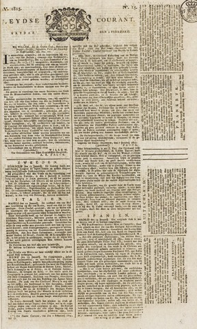 Leydse Courant 1815-02-03