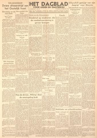 Dagblad voor Leiden en Omstreken 1944-02-23