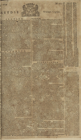 Leydse Courant 1754-10-11