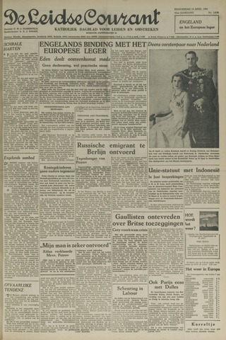 Leidse Courant 1954-04-15