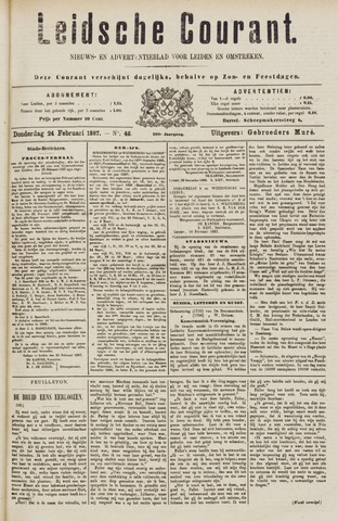 Leydse Courant 1887-02-24