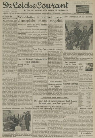 Leidse Courant 1954-02-27