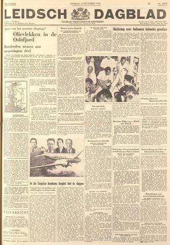 Leidsch Dagblad 1949-11-22