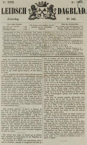 Leidsch Dagblad 1867-07-20