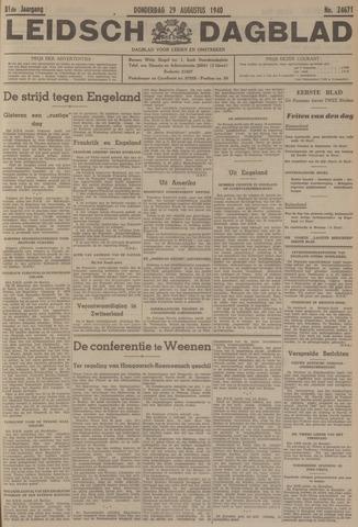 Leidsch Dagblad 1940-08-29