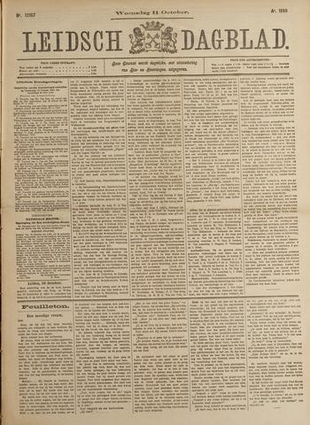 Leidsch Dagblad 1899-10-11
