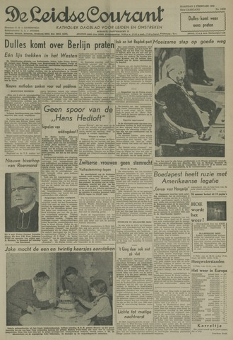 Leidse Courant 1959-02-02