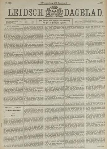 Leidsch Dagblad 1896-01-22