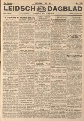 Leidsch Dagblad 1942-07-23