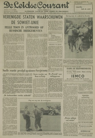 Leidse Courant 1961-08-25
