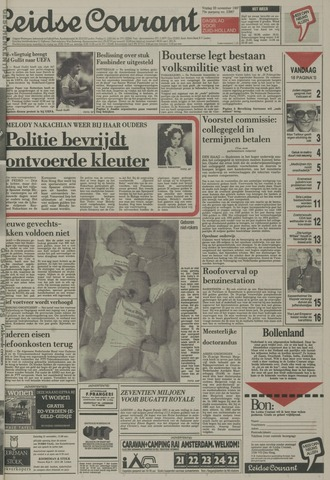 Leidse Courant 1987-11-20