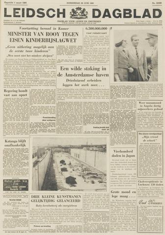 Leidsch Dagblad 1961-06-29