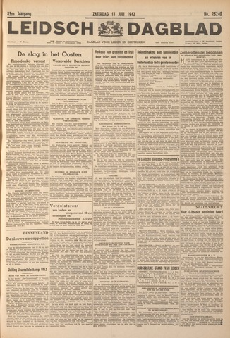 Leidsch Dagblad 1942-07-11